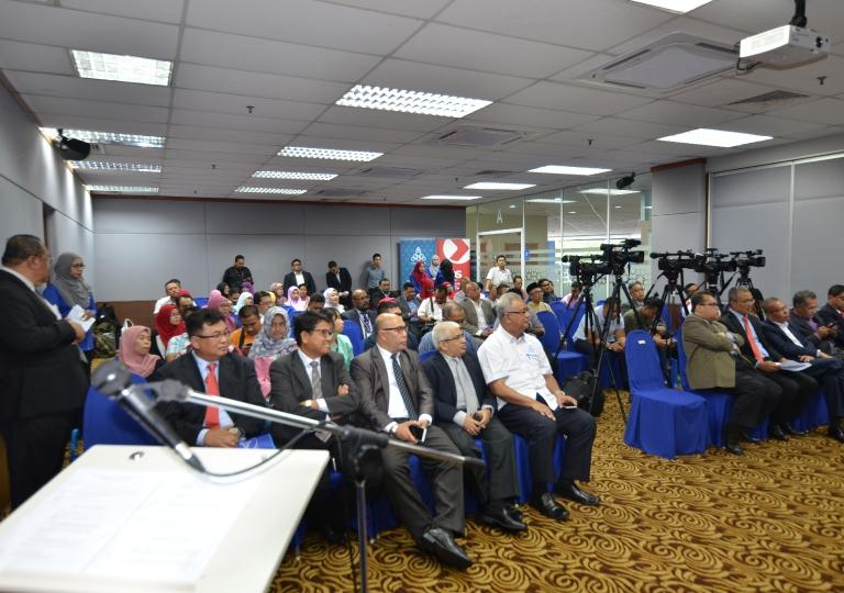 Majlis Menandatangani MoU ANGKASA - Pos Malaysia