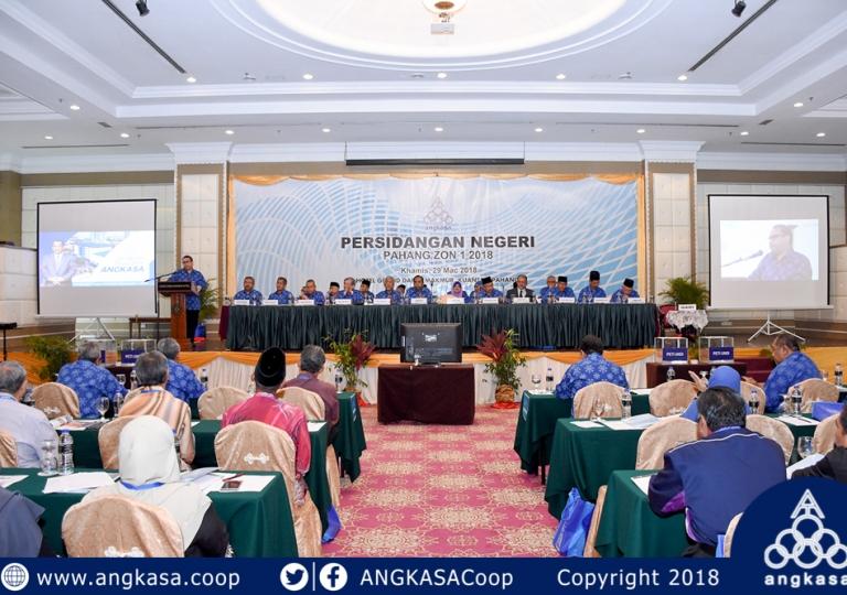Persidangan Negeri ANGKASA Pahang Zon 1