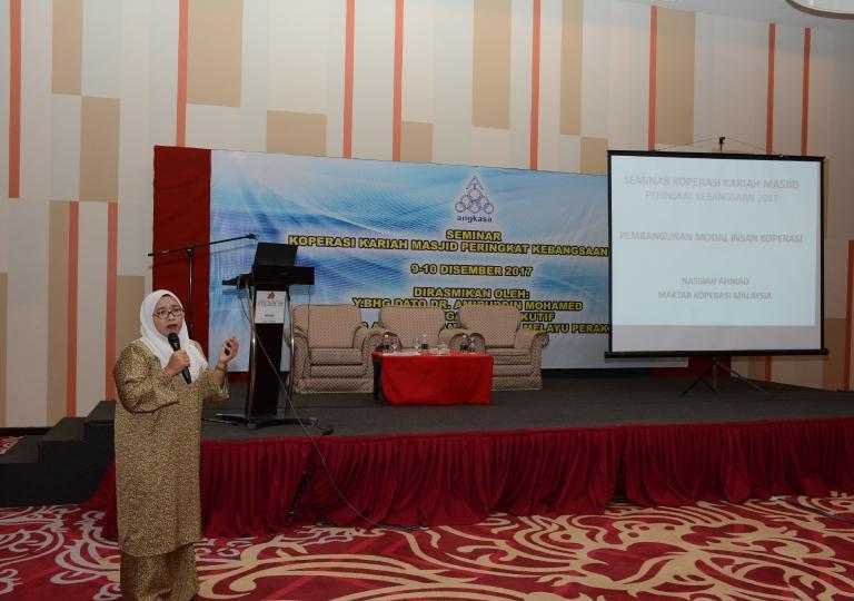 Seminar Koperasi Kariah Masjid Peringkat Kebangsaan